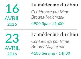 Conférence: La médecine du chou
