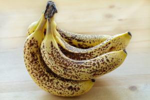 berreife Bananen