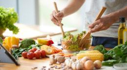 Alimentation à dominance végétale